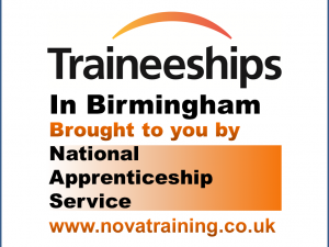 Traineeships in Birmingham