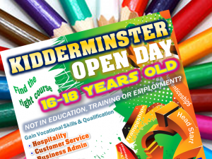 Kidderminster - Open Day Friday 29th May 10am to 2pm
