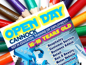 Cannock Open Day Monday 1st June 3:30pm to 7:30pm