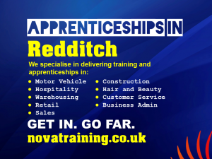 Apprenticeships In Redditch
