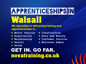 Apprenticeships In Walsall