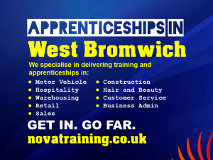 Apprenticeships In West Bromwich