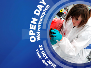 Wolverhampton Open Day - Friday 23rd October from 11am to 4pm