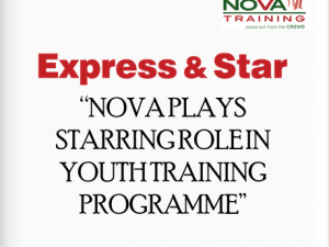Express & Star - NOVA PLAYS STARRING ROLE IN YOUTH TRAINING PROGRAMME ACROSS THE WEST MIDLANDS