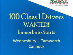 100 Class 1 Drivers WANTED!!!