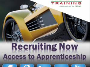Motor Vehicle: Access to Apprenticeship programme in Brownhills (Walsall)