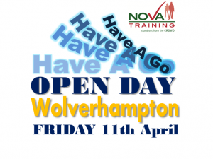 Wolverhampton Open Day - FRIDAY 11th April 2014