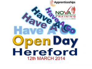 HEREFORD APPRENTICESHIP WEEK 2014