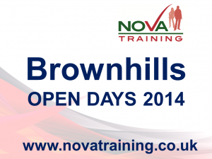 BROWNHILLS OPEN DAYS 2014