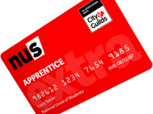 NUS APPRENTICE EXTRA CARD COSTS JUST £11 PER YEAR