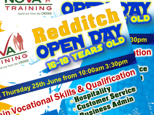 Redditch Open Day on Thursday 25th June from 10:00am 3:30pm