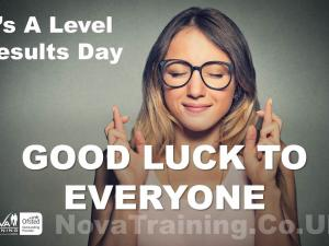 It's A Level Results Day GOOD LUCK TO EVERYONE