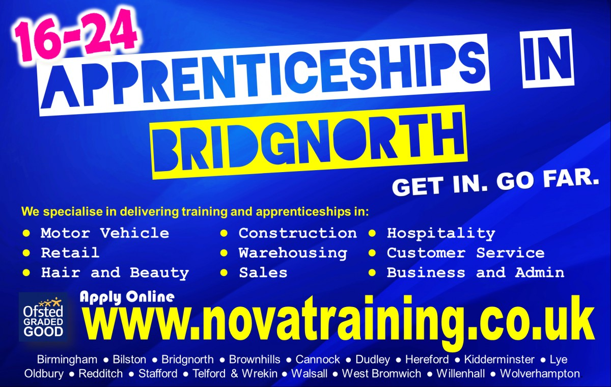 APPRENTICESHIPS IN BRIDGNORTH