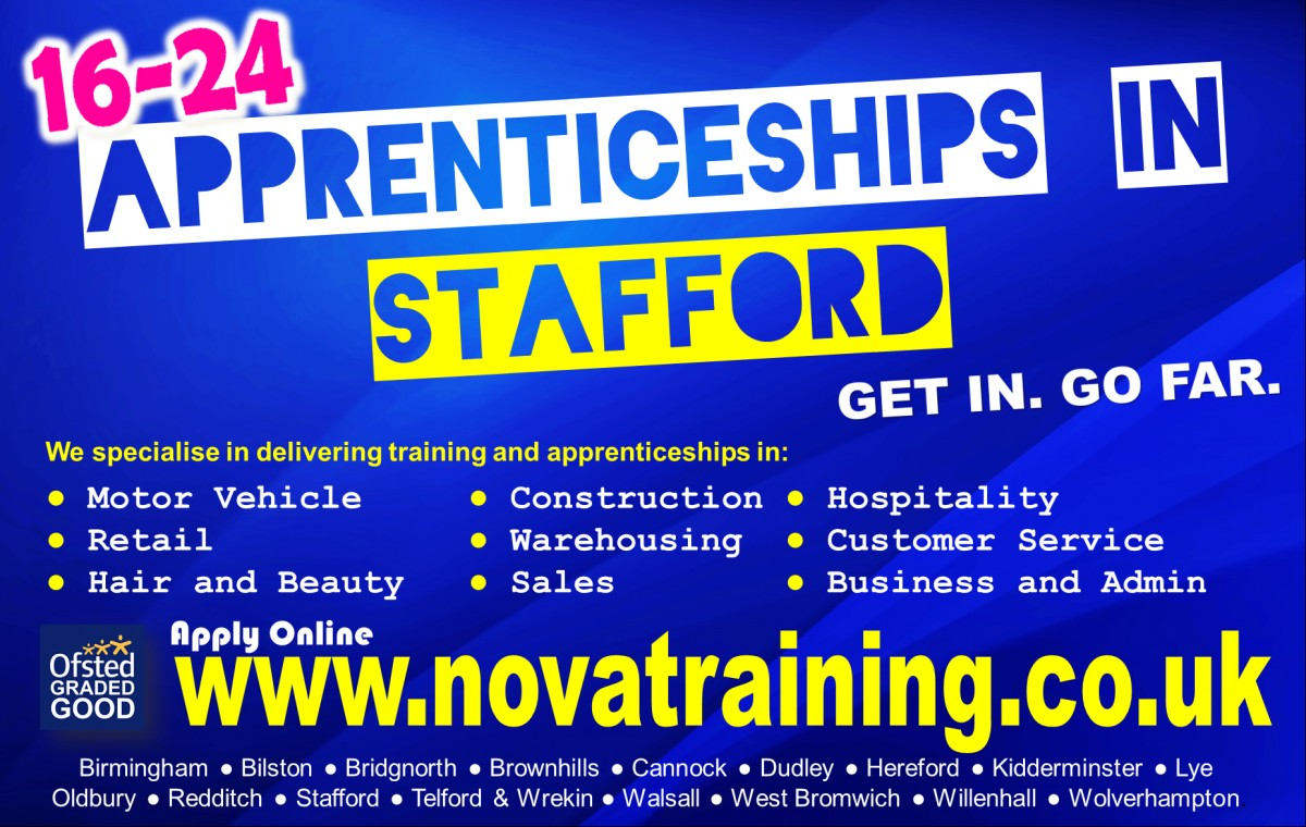 APPRENTICESHIPS IN STAFFORD