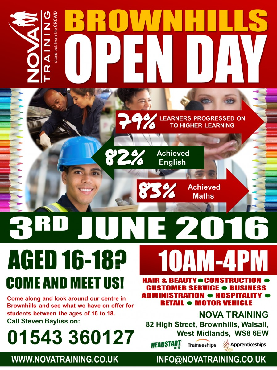 Brownhills Open Day 2016 Walsall