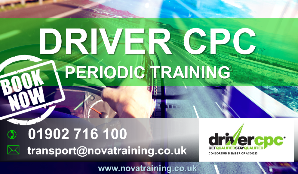 Driver CPC Training In Stafford