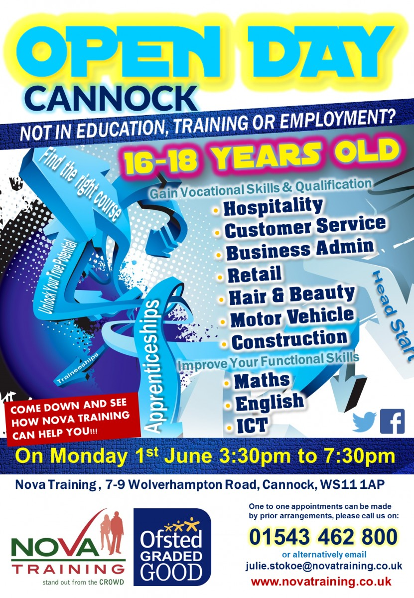 Cannock Open Day