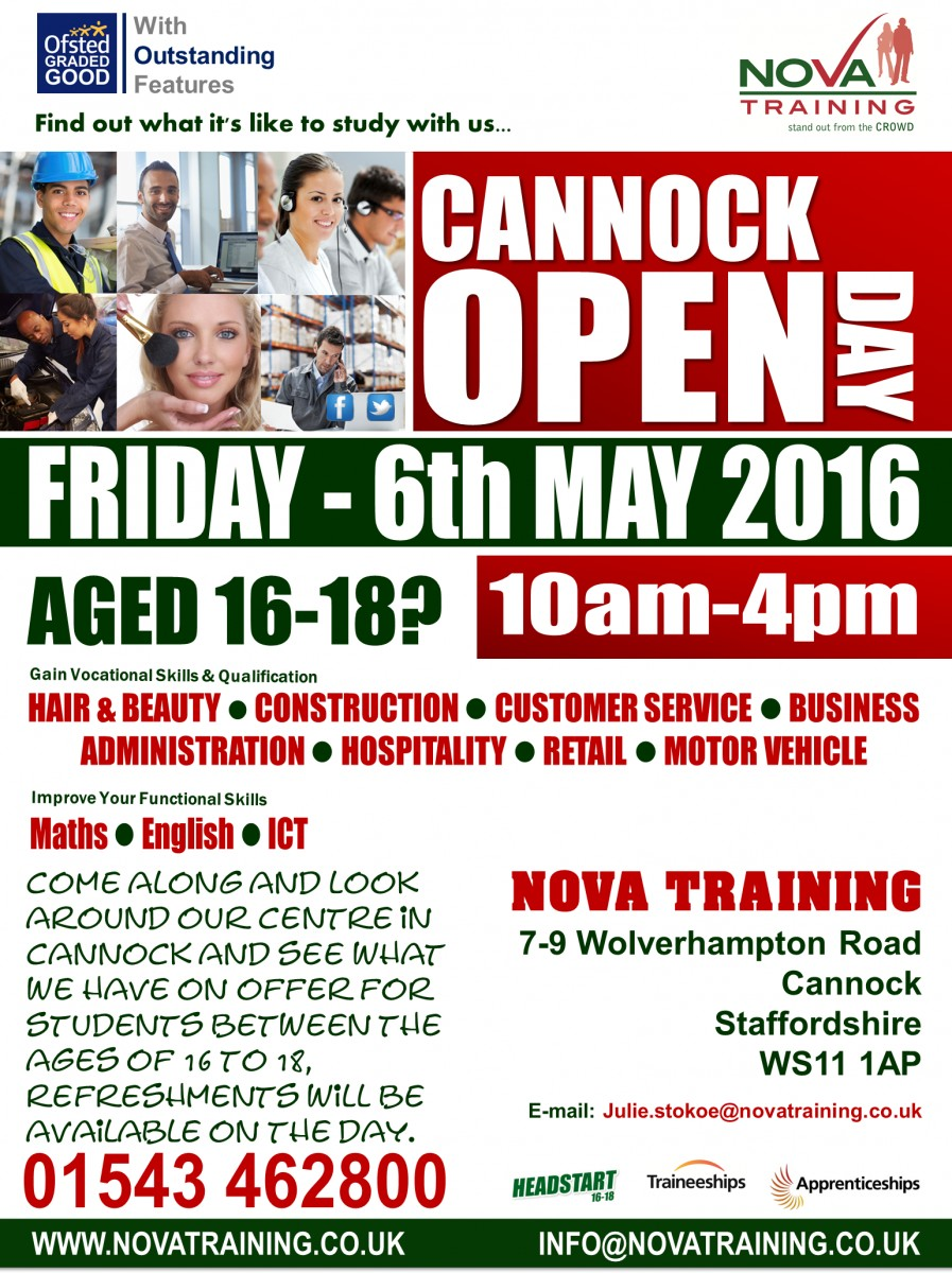 Cannock-Open-Day