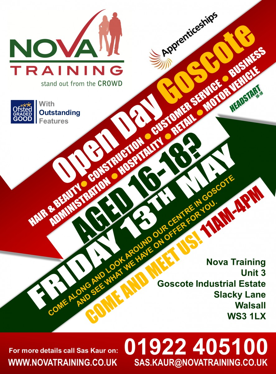 Goscote - Walsall Open Day 2016