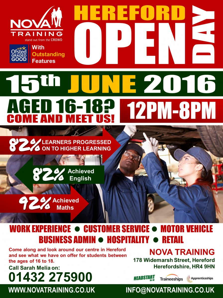 Hereford Open Day 2016