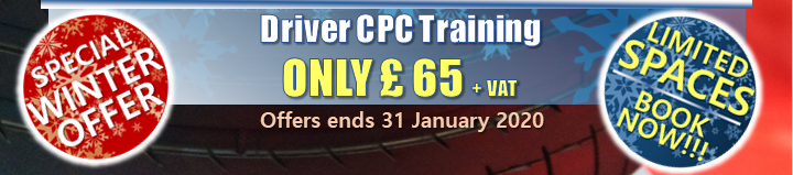Driver CPC Training ONLY £ 65 + VAT