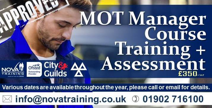 MOT Manager Course