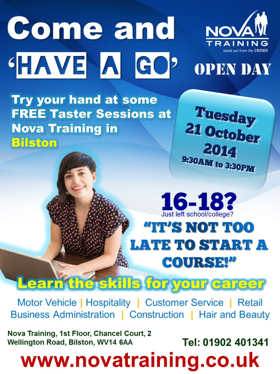 Bilston Open Day