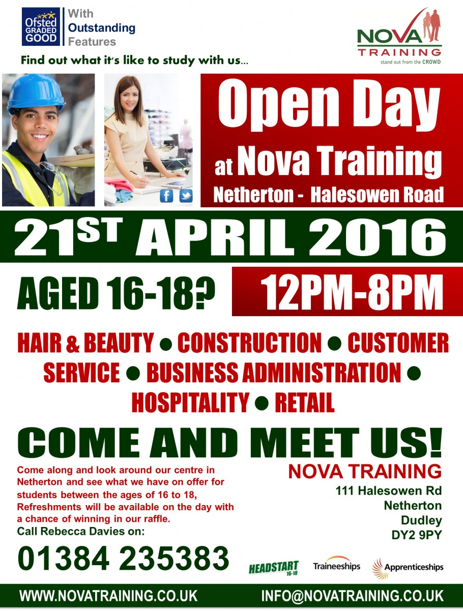 NETHERTON -  HALESOWEN ROAD - OPEN DAY