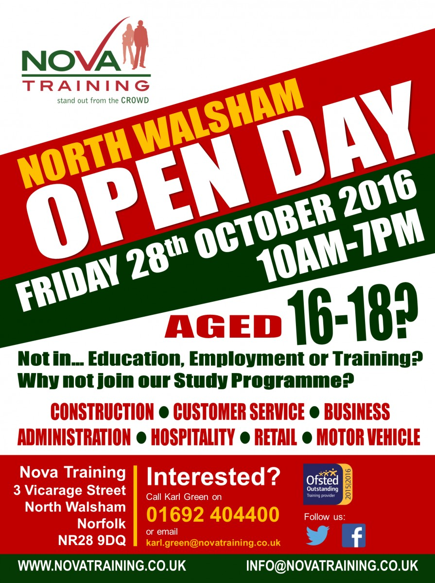 North-Walsham-Open-Day