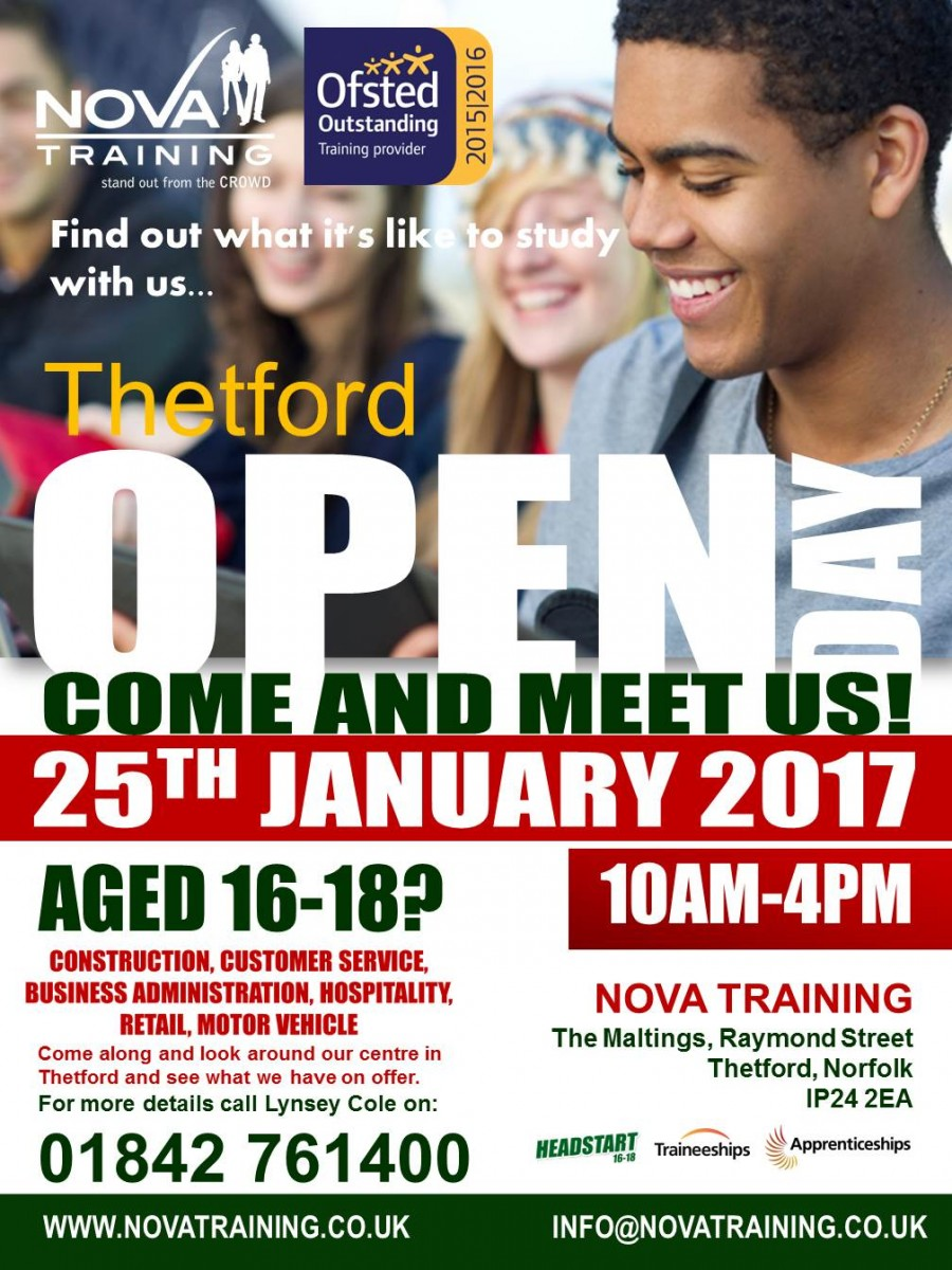 Thetford Open Day