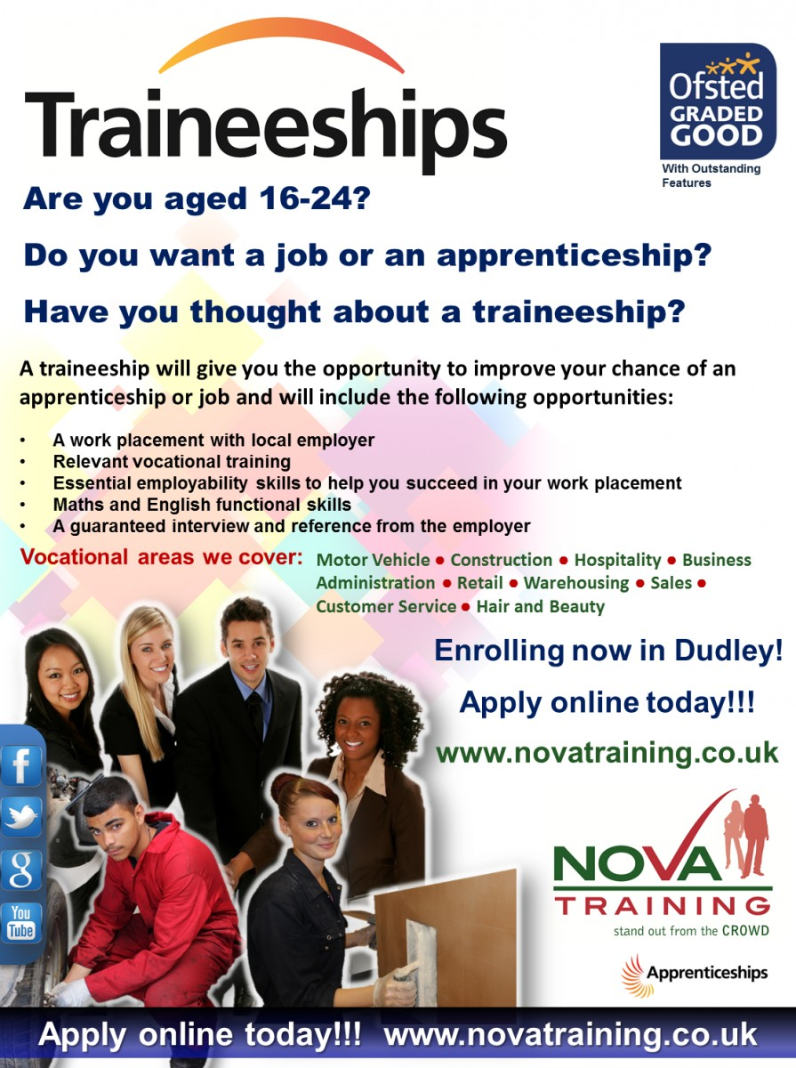 Traineeships in Dudley