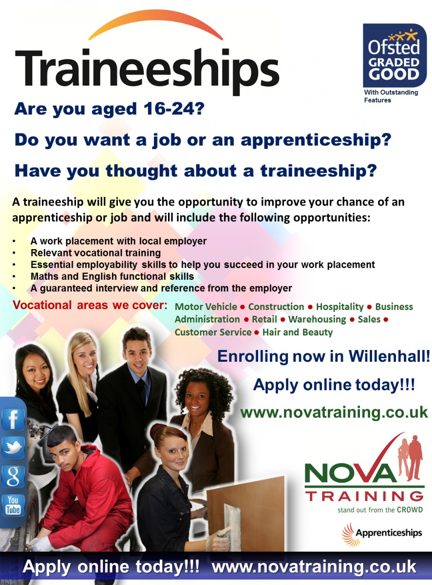 Traineeships in Willenhall