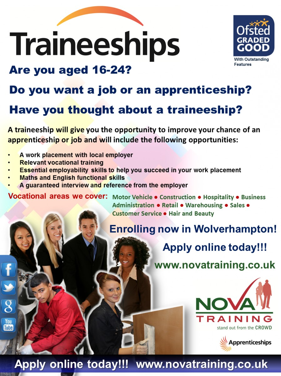 Traineeships in Wolverhampton